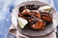 Jerk o pollo asado jamaicano
