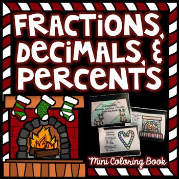 No PREP! Just print!This includes 8 mini pages to show students knowledge of decimals, fractions, & percents.Students practice coloring in decimals, fractions, and percentages of Christmas images.  This is a great activity before winter break! Or to send home with students for an assignment.