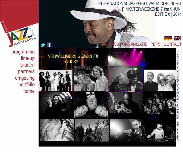 Tijdens het pinksterweekend op 7, 8 en 9 juni wordt het Abdijplein in Middelburg weer het middelpunt van Jazz!