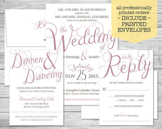 9 best wedding invitations images on pinterest wedding