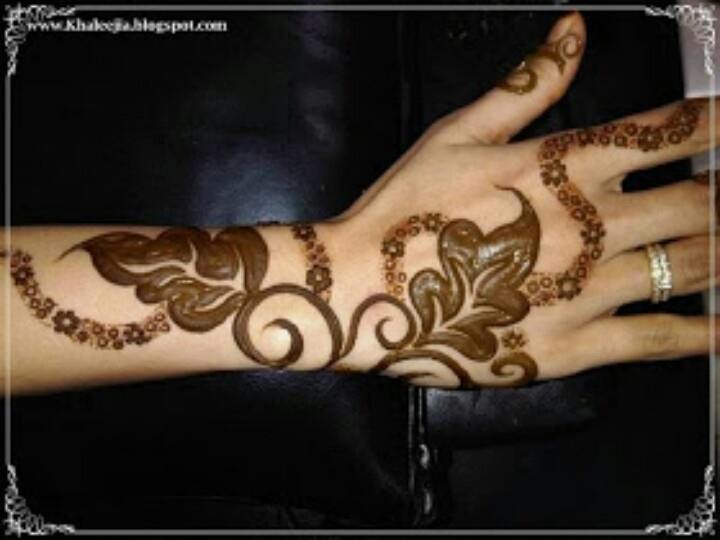 Khaleeji Henna Designs Tattoo: Henna Designs