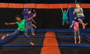 Groupon - $ 16 for Two 60-Minute Jump Sessions at Sky Zone Indoor Trampoline Park ($26 Value)  in Pineville. Groupon deal price: $16