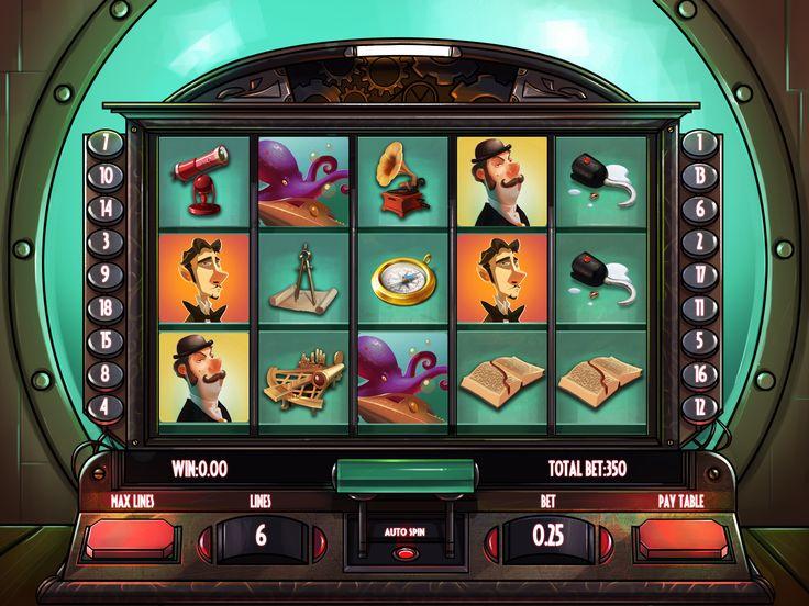Jules Vern Slot Machines