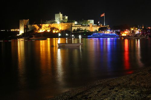 Night Photo of Bodrum Castle 2