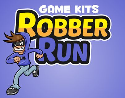 """Check out new work on my @Behance portfolio: """"Game Assets Robber Run"""" http://be.net/gallery/44450321/Game-Assets-Robber-Run"""