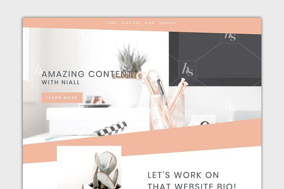 The Niall Divi Wordpress Child Theme By Gillian Paterson On Creativemarket Sponsored Graphidesign Gr Creative Wordpress Themes Theme Wordpress Theme Design