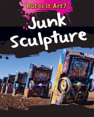 A colorful layout full of many pictures of junk sculpture introduces readers to the many forms junk sculpture may take, such as fashion, pillars formed from plastic, and more.