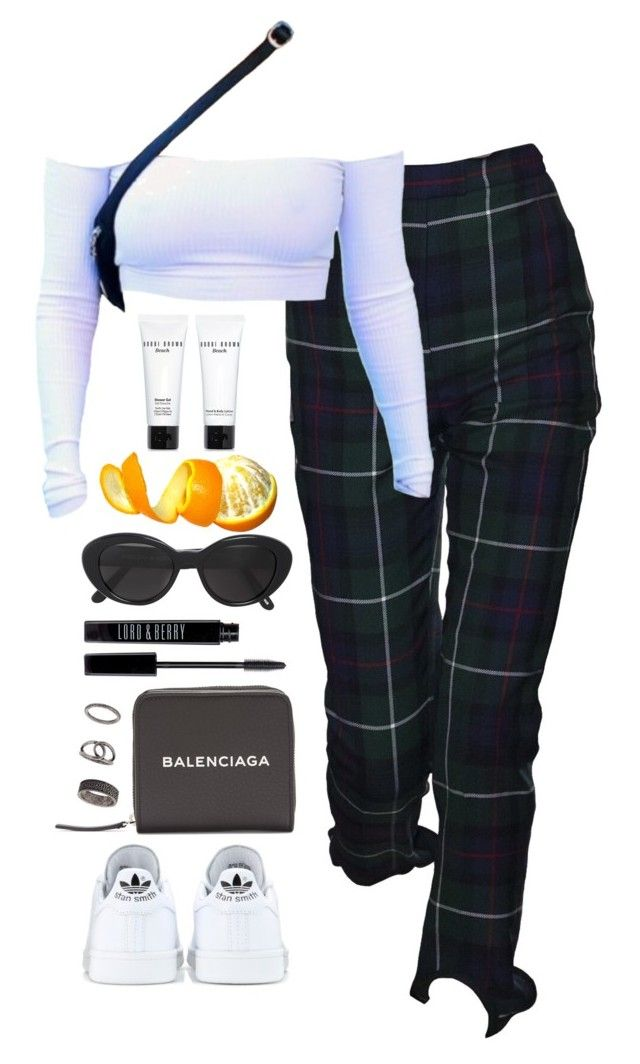 """""""Untitled #786"""" by lindsjayne ❤ liked on Polyvore featuring adidas, Lord & Berry, Balenciaga, Novo, Bobbi Brown Cosmetics and Topshop"""