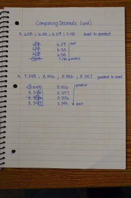 1000+ images about Math - Decimals on Pinterest | Math notebooks ...