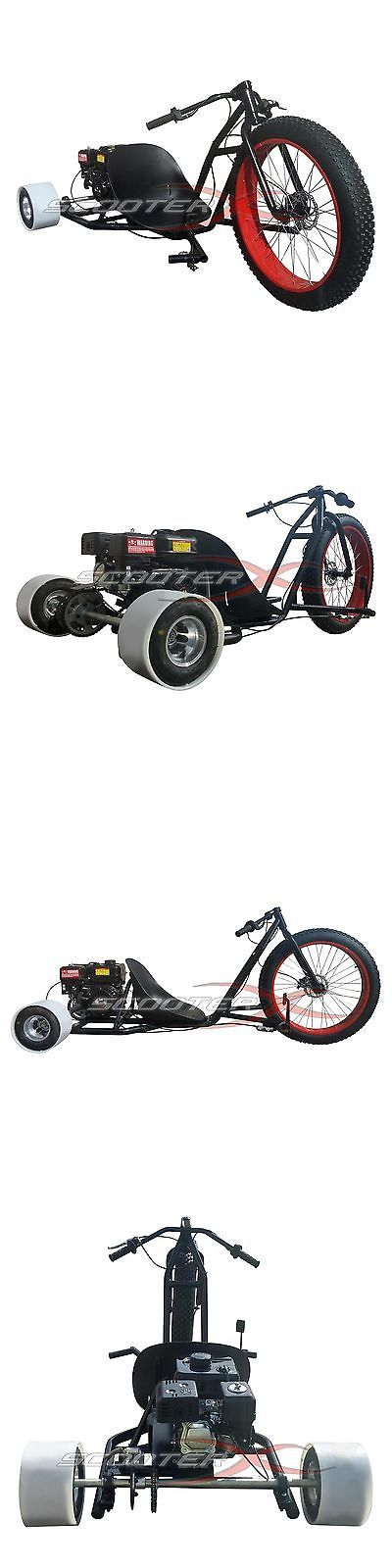 Gas Scooters 75211: Red Scooter X Go Kart 6.5Hp Engine 3 Wheeler Kart 26 Rim Drift Trike -> BUY IT NOW ONLY: $949 on eBay!