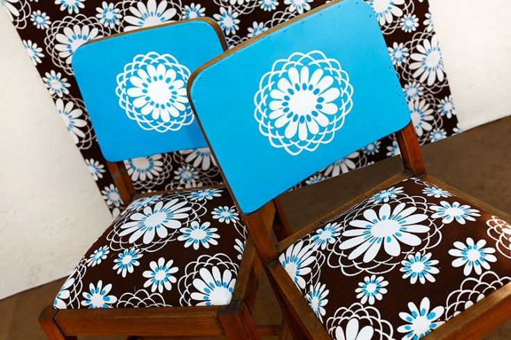 """Única, irrepetibles y arriesgadas. Esta pareja destaca por su sentido claro de la vida. Simplemente """"maravillosas"""".  #silla: $75.000 c/u"""