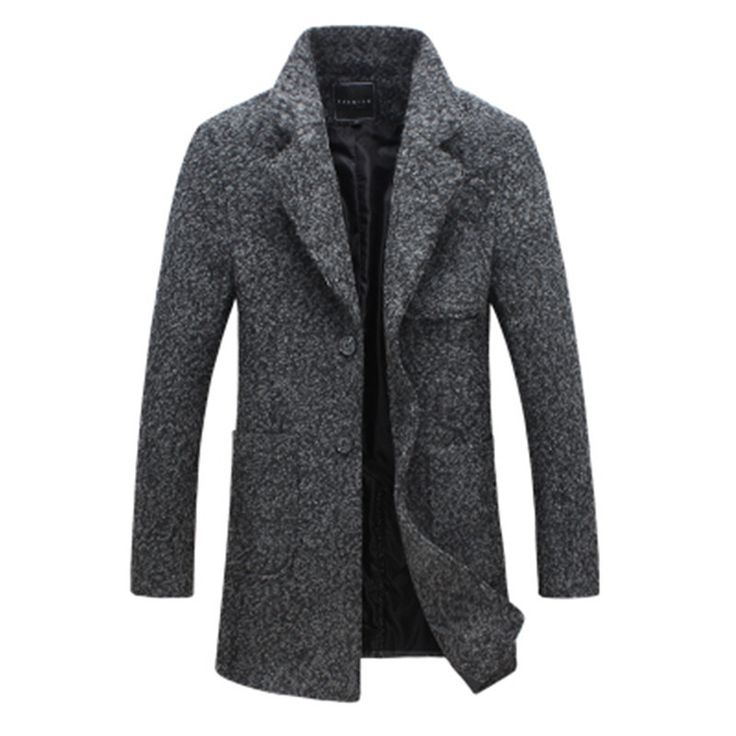 2016 New Arrival Brand Winter Warm Men Coat Fashion Wool Blend Overcoat For Men Casual Slim Fit Coat Men Size M 5XL-in Wool & Blends from Men's Clothing & Accessories on Aliexpress.com   Alibaba Group