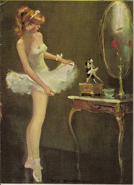 Darling BALLERINA In A Tutu By Rico Tomaso D.A.C. NY