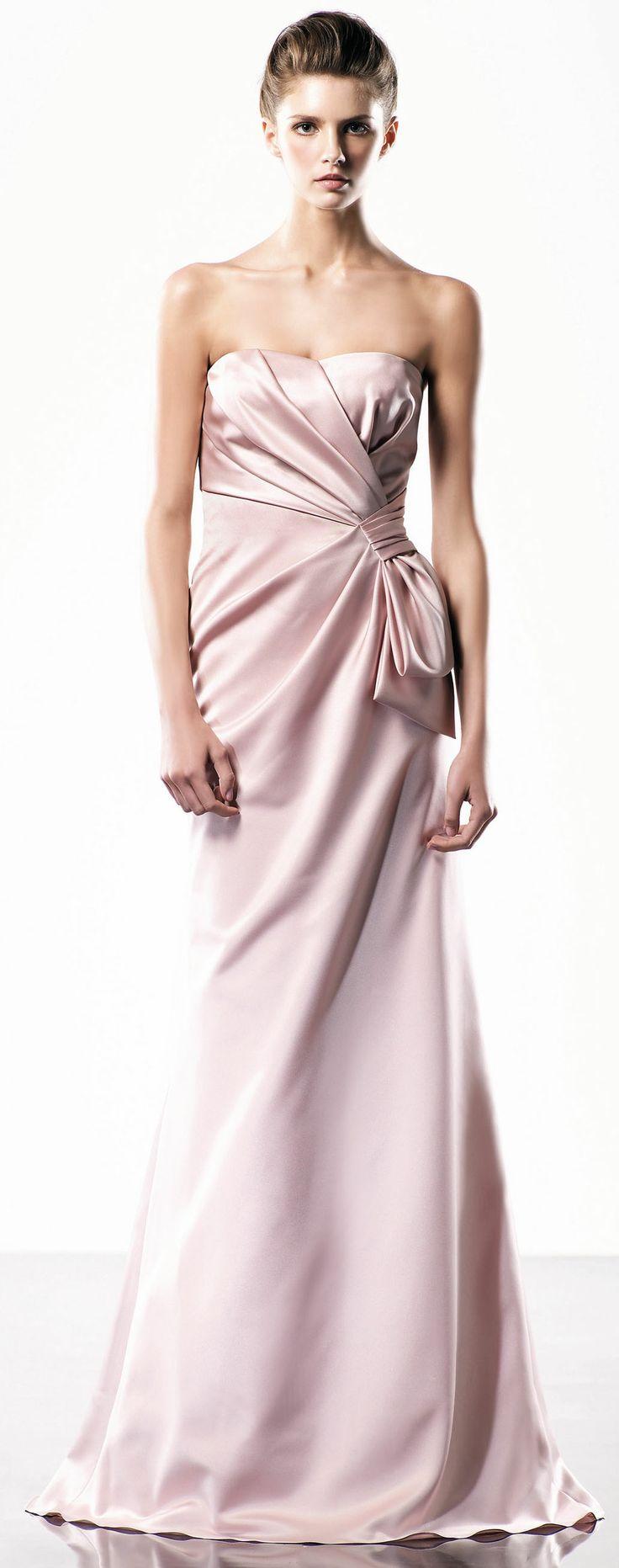 Modern A-line Floor length gown