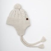 Chunky Cable Earflap for winter  weather #CdnGetaway