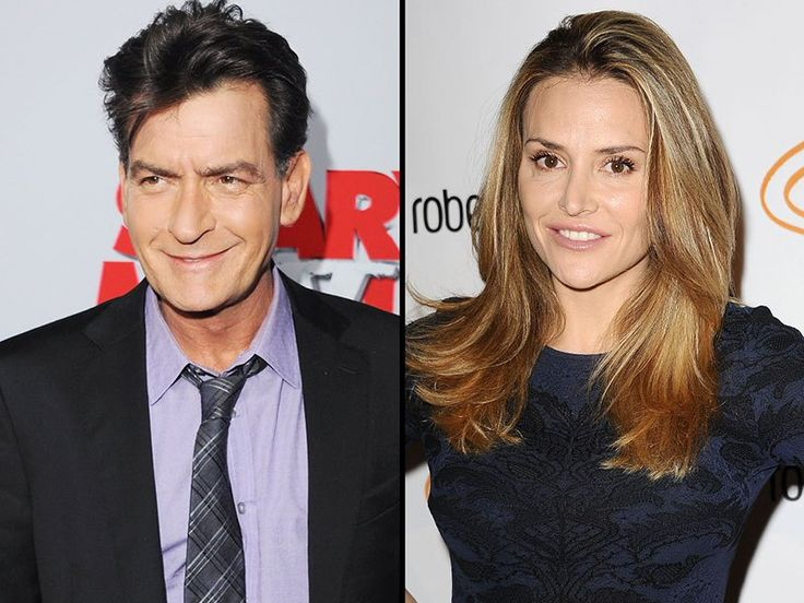 Charlie Sheen and Brooke Mueller Are 'Getting Along Fantastically'