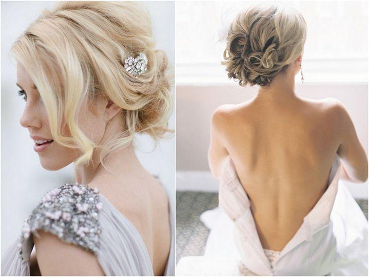 THE NORWEGIAN WEDDING BLOG : 25 Brudefrisyrer av oppsatt hår - Oppsatte Hårfrisyrer - Moderne Brudefrisyrer