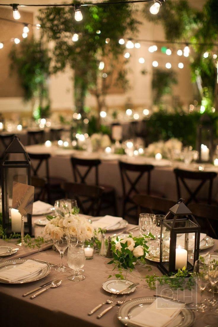 La Belle Jardin: ~ Let's Dine Outside... ~ *lovely lights via The Bottom of t..