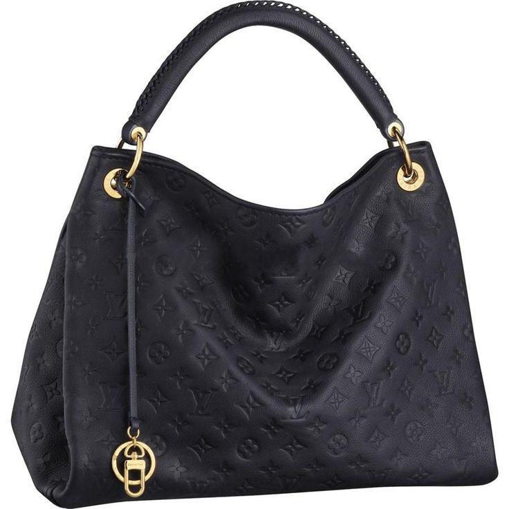 Louis Vuitton Artsy MM Monogram Empreinte Leather Handbags M93448