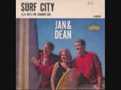 jan and dean -surf city  ♥~♥...My  First  Lp    1966  http://www.pinterest.com/merciduran/boards/