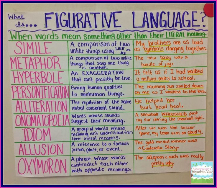 mini reading passages for 6th grade with figurative language questions - Google Search