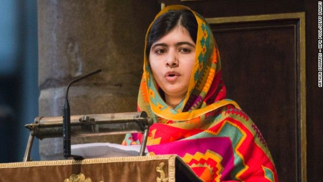 Malala Yousafzai and Kailash Satyarth share Nobel Peace Prize - CNN  #Nobel, #PeacePrize
