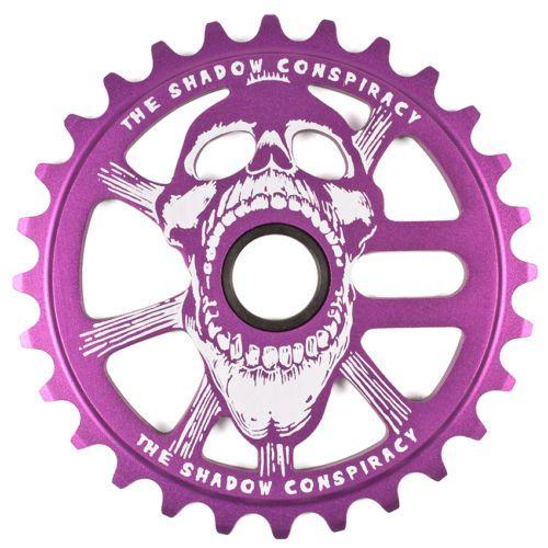 SHADOW CONSPIRACY SCREAM SPROCKET 28t BMX BIKE HARO MIRRACO GT DK REDLINE PURPLE
