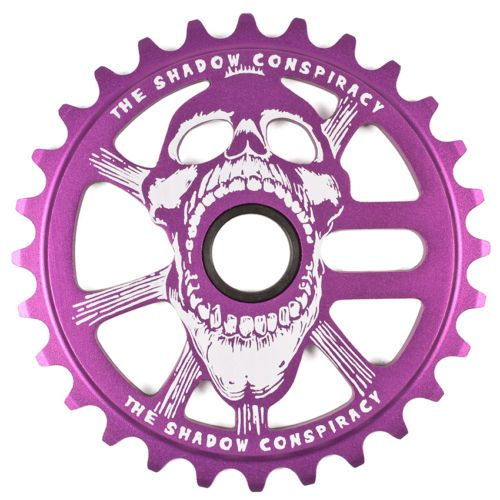 SHADOW CONSPIRACY SCREAM SPROCKET 28t BMX BIKE HARO MIRRACO GT DK REDLINE PURPLE