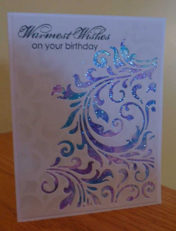Blingy Birthday Wishes by Art Deco Diva - Cards and Paper Crafts at Splitcoaststampers