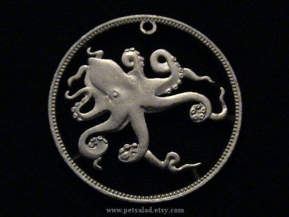 Tuvalu - 50 cent - 1987 - Octopus