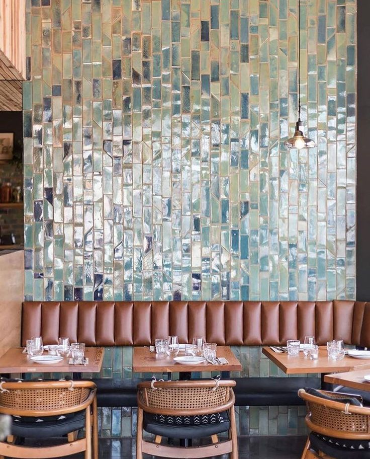"571 Likes, 11 Comments - Heath Ceramics's Tile Feed (@tilemakestheroom) on Instagram: ""One beautiful wall of tiles, custom made by @miel_ceramics and designed by @anahenton."""