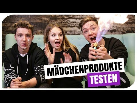 JUNGS TESTEN BEAUTY PRODUKTE | DIE LOCHIS | XLAETA – YouTube – Lea Wolf