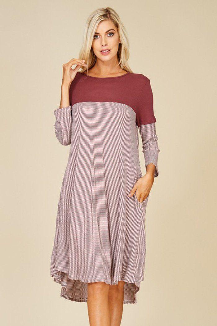 cc3190d741e Aubrey Color Black Dress   Berry – GOZON Boutique
