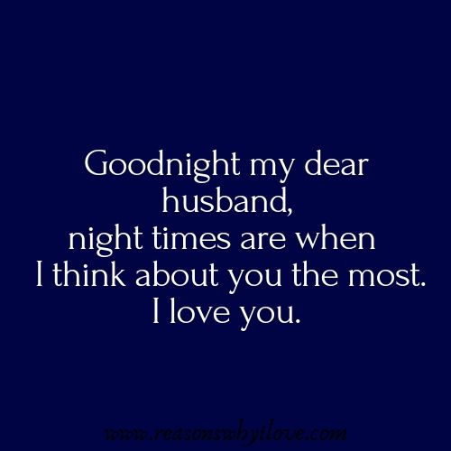 goodnight wife quotes