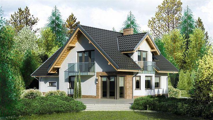 projekt Dom przy Cyprysowej 15 K2 KRK1165