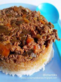 Resep MPASI: Nasi Tim Daging Sayur (1y+) | Cerita Mami Kenzie