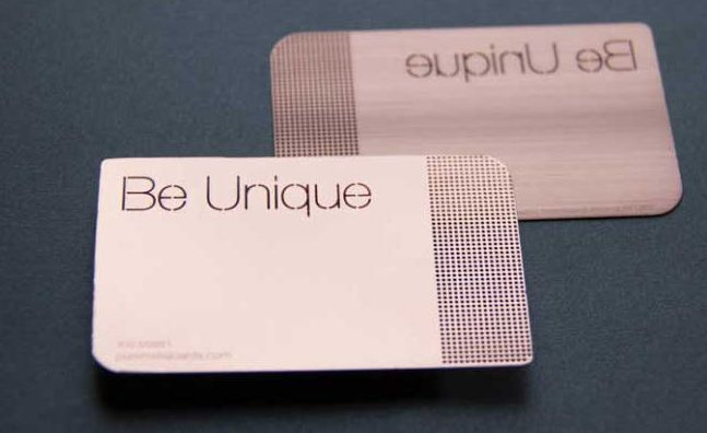 18 Stylish Metal Business Cards for Inspiration