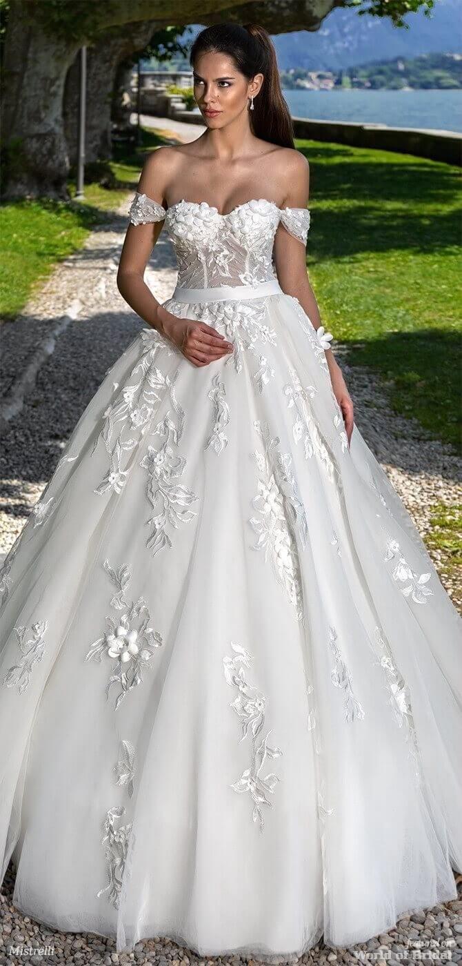 Mistrelli wedding dresses black pearl collection wedding