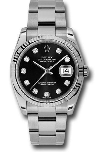 Rolex Oyster Perpetual Datejust 36 Watch 116234 bkdo