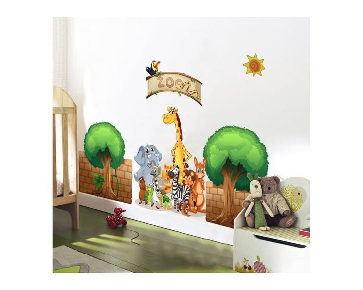 Zoo! , παράσταση σε αυτοκόλλητα τοίχου