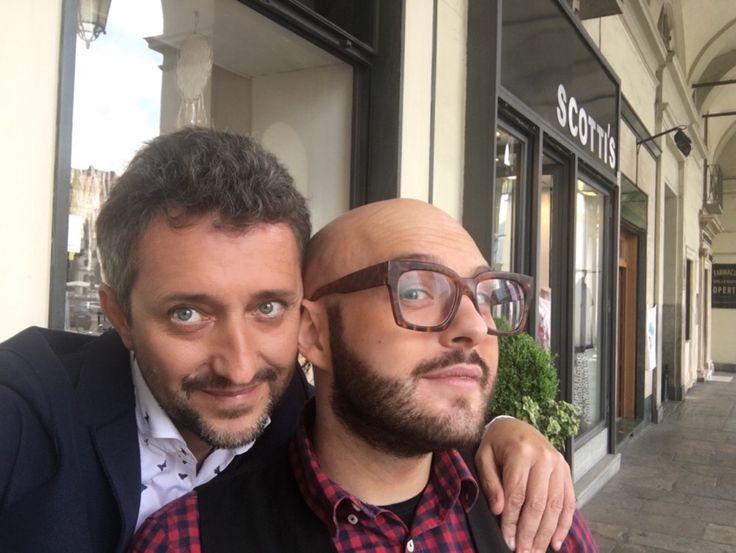 Torino io & Steve Piazza Vittorio  12/5/2017