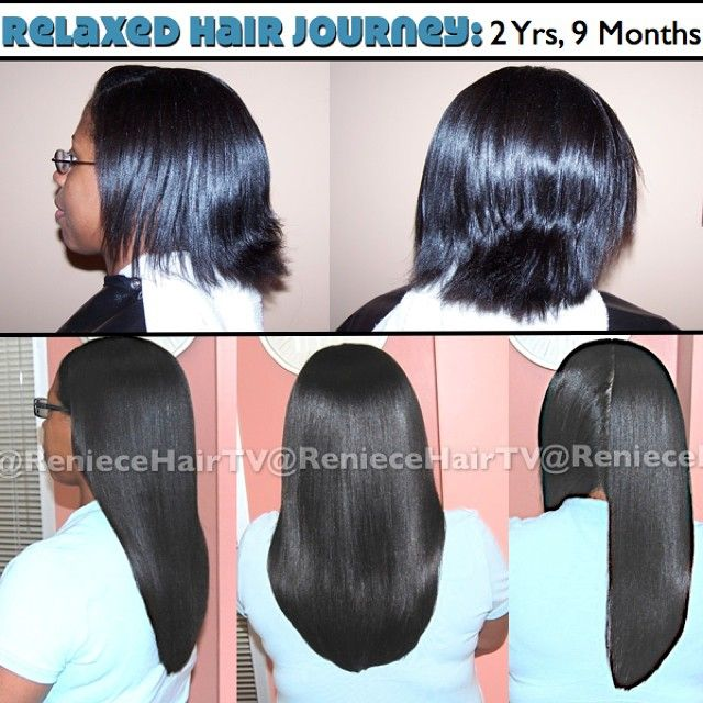 Relaxed Hair Journey. Photo taken by @reniecehairtv on Instagram, pinned via the InstaPin iOS App! (09/28/2014)