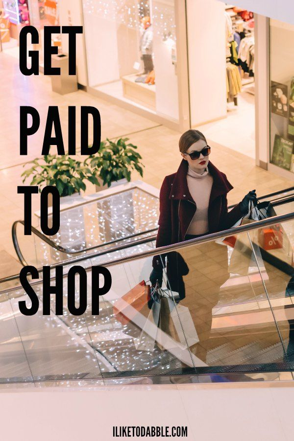 Get paid to shop. Side hustle. Make extra money. Make money online. Money making apps.