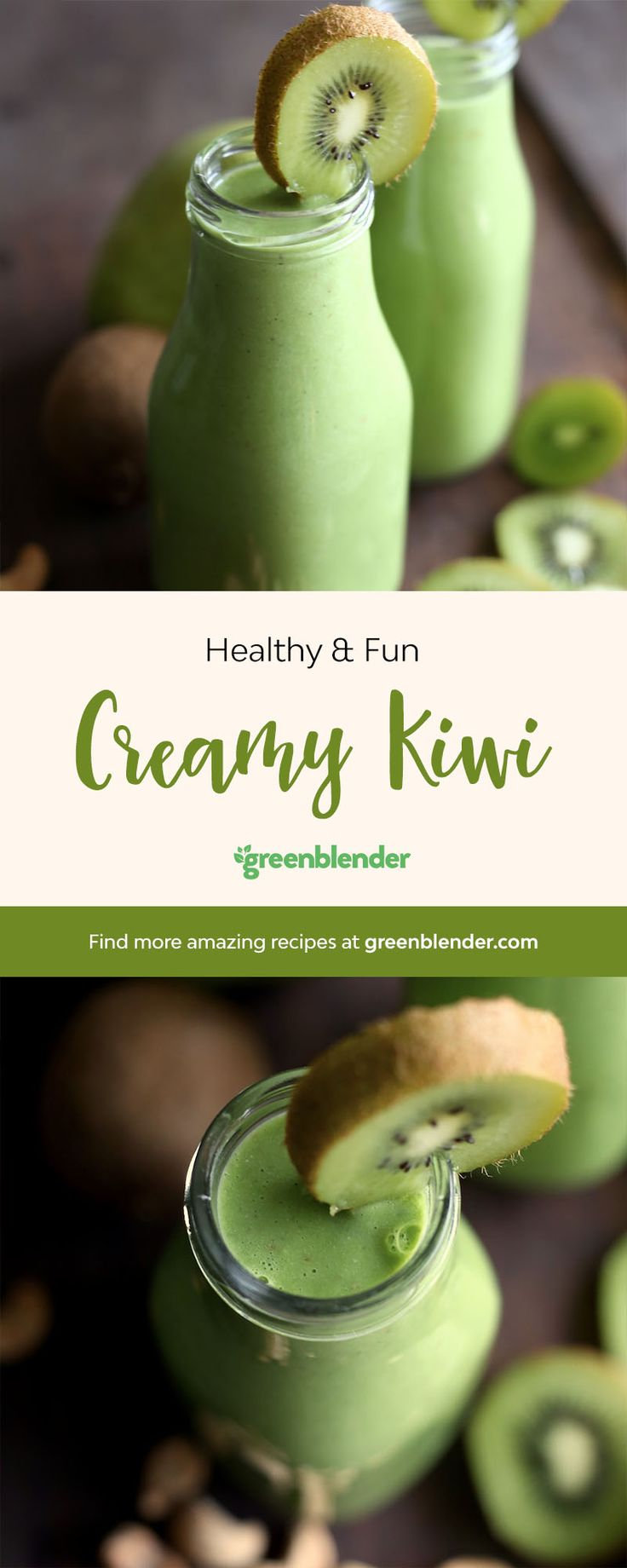 This super green, yet still sweet smoothie is perfect for the people in your life who are a little hesitant to get on the green smoothie train