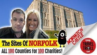 Norwich Castle In Norfolk