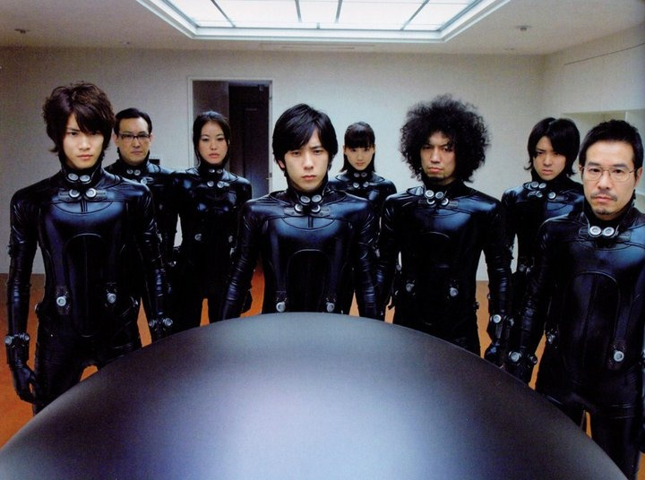 Another Gantz: Perfect Answer Pic. Yay! Too bad the movie doesn't live up to the intense frame.