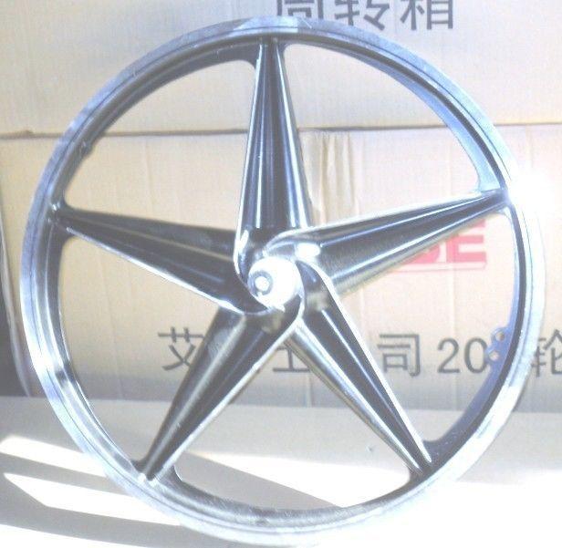 Bmx Alloy Mag Wheel 3 8 Cro Moly Axle Front Rims 20 Inch