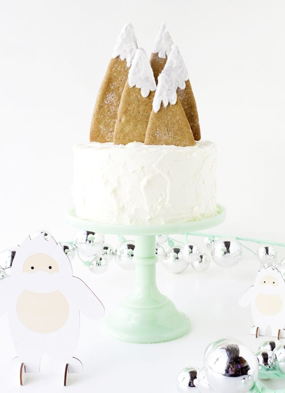 Online Advent Calendar: Gingerbread Cake Toppers | HOORAY! Mag