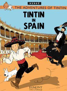 Les Aventures de Tintin - Album Imaginaire - Tintin in Spain