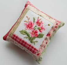 Image result for patchwork pincushion